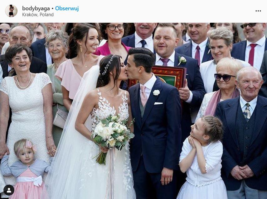 Ślub Macieja Kota z Agnieszką Lewkowicz