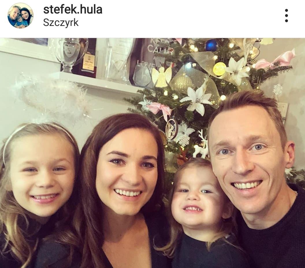 Boże Narodzenie u skoczków narciarskich - Stefan Hula z rodziną
