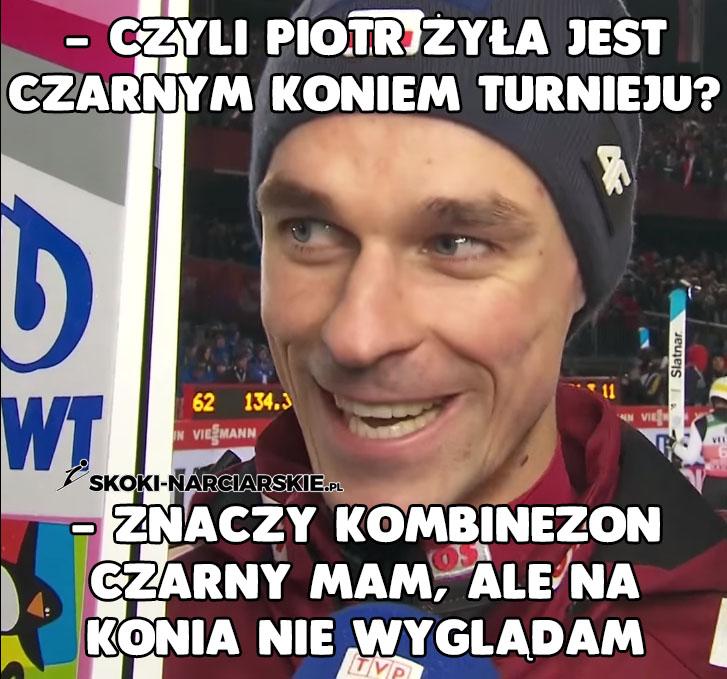 Memy o Turnieju Czterech Skoczni - Czarny koń