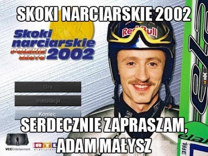 Memy o Adamie Małyszu