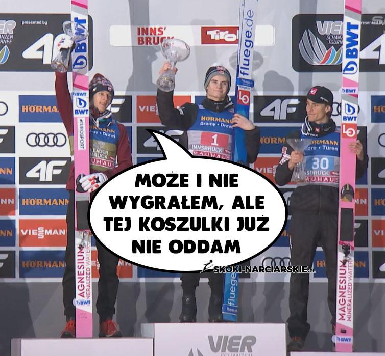 Memy o Turnieju Czterech Skoczni - Kubacki liderem