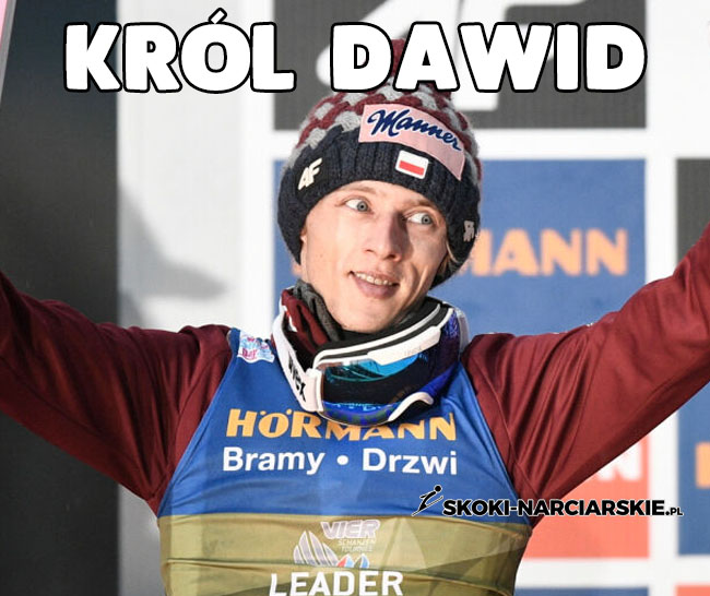 Memy o Turnieju Czterech Skoczni - Król Dawid