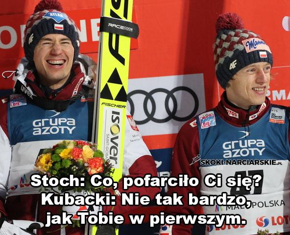 Memy po konkursach w Sapporo - Dialog po treningach