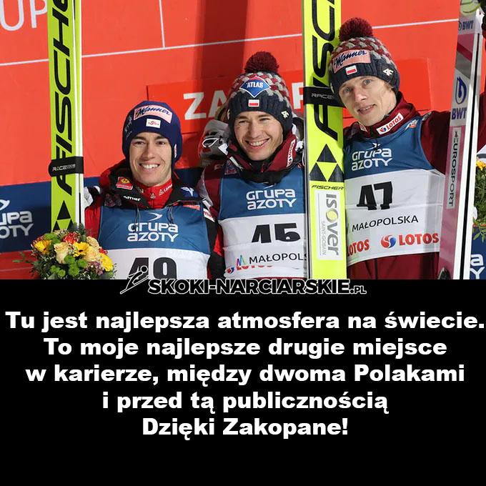 Memy po konkursie w Zakopanem - Piękne słowa Krafta