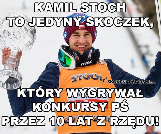 Memy po konkursie w Zakopanem - Rekord Stocha