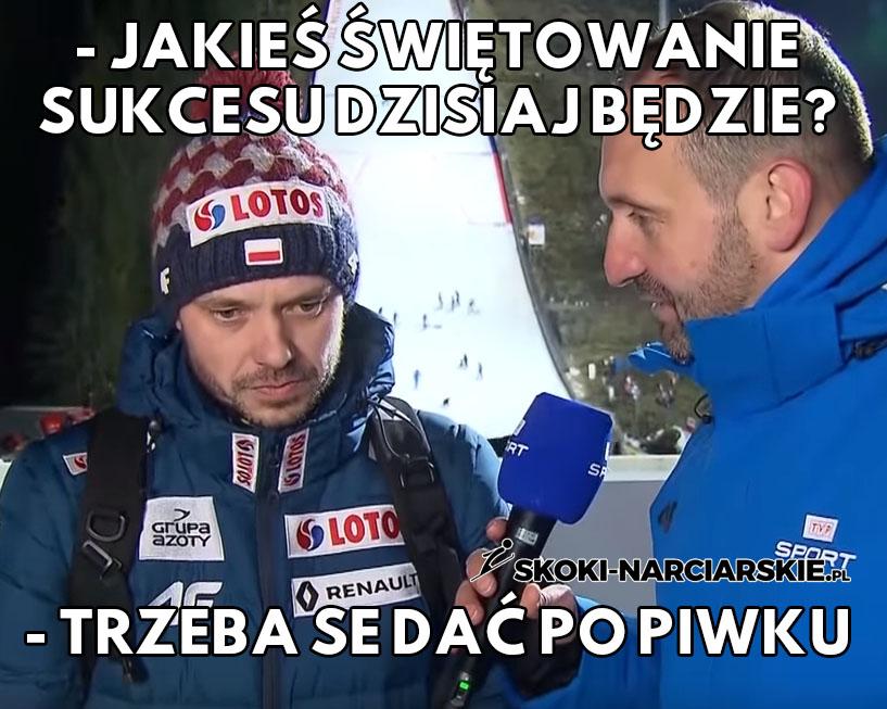 Michal Doleżal tak świętuje sukces