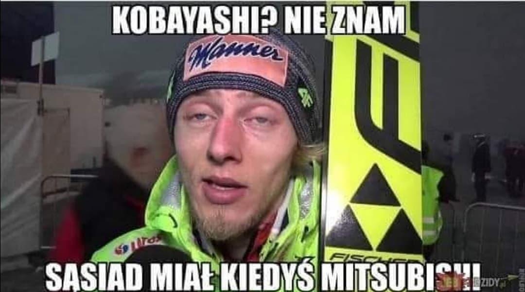 Memy o Turnieju Czterech Skoczni - Nie znam