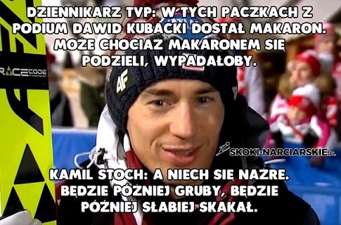 Polscy skoczkowie w dobrym humorze po zawodach w Predazzo!