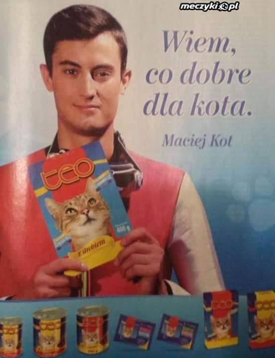 Wiem, co dobre dla kota