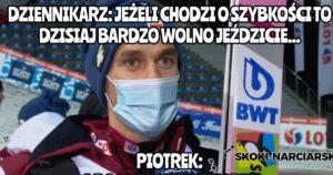 Najlepsze teksty Piotra Żyły po konkursie w Wiśle