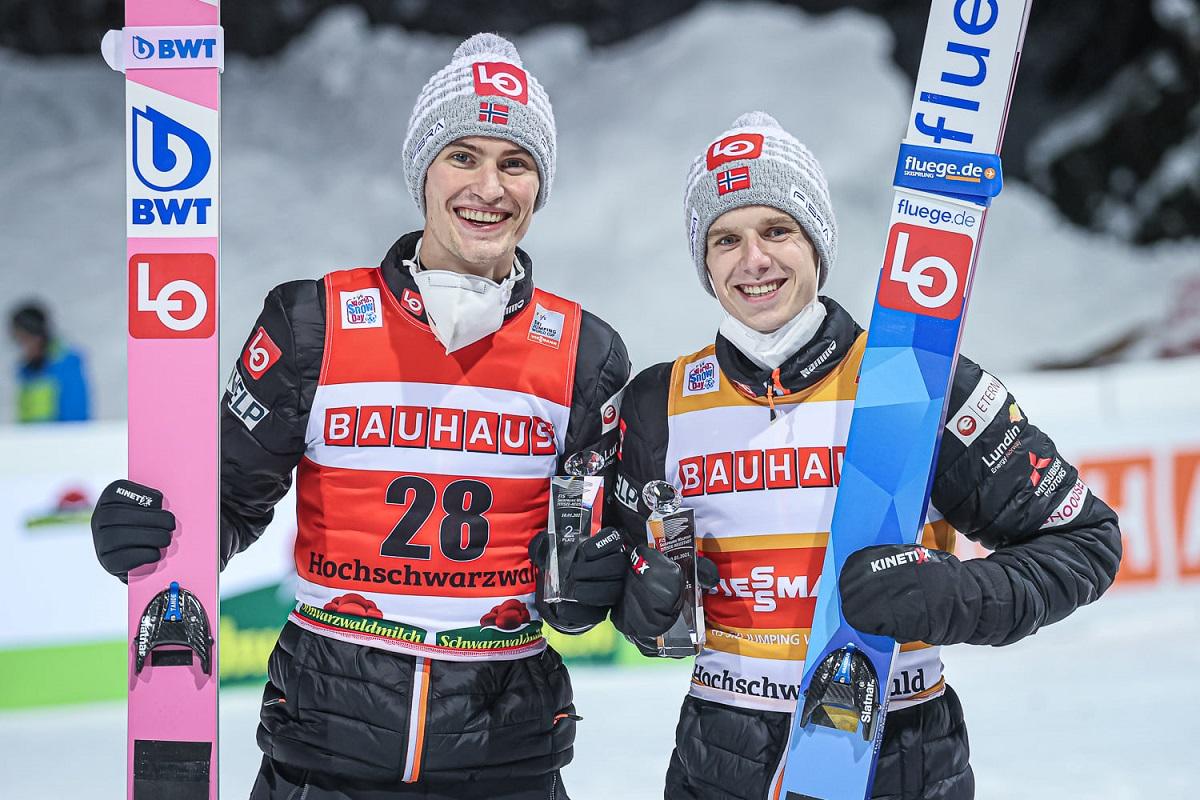 Czołowi norwescy skoczkowie z zakazem startu w mistrzostwach kraju