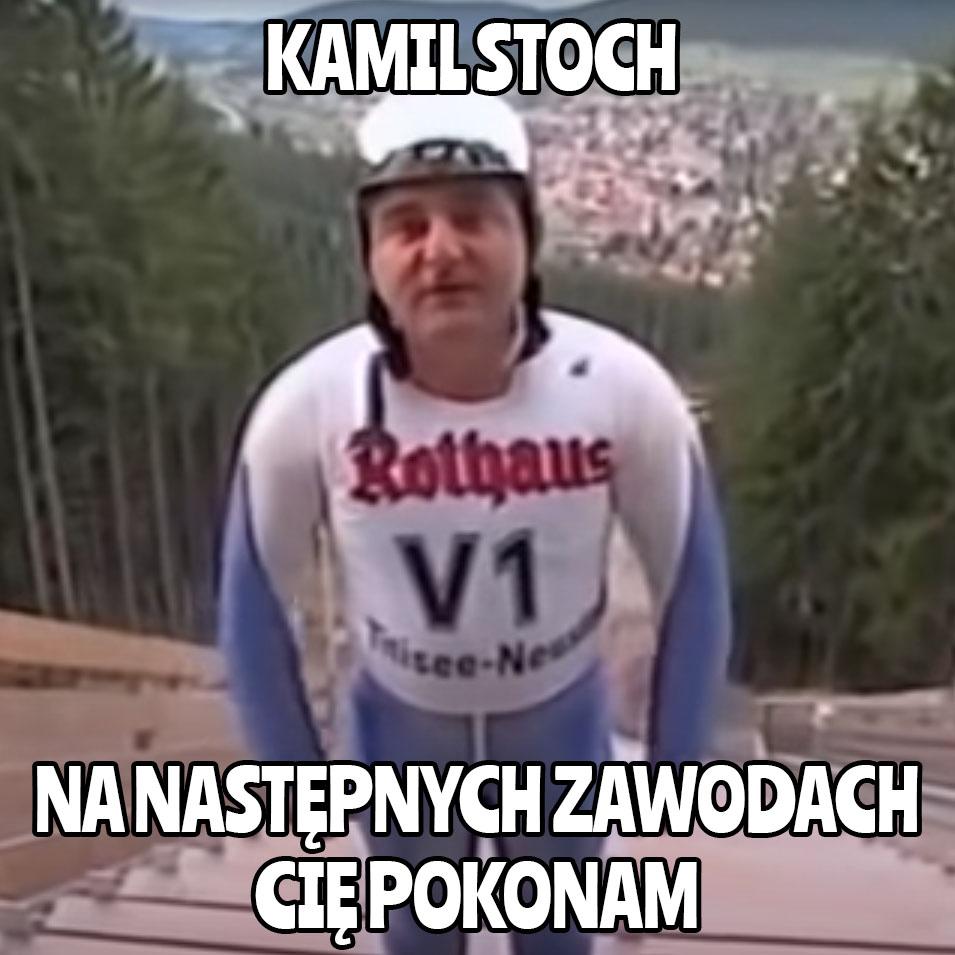 Memy i śmieszne teksty po konkursach w Titisee-Neustadt - Robert Makłowicz