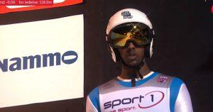 Na mistrzostwach Norwegii w skokach narciarskich wystąpił czarnoskóry skoczek