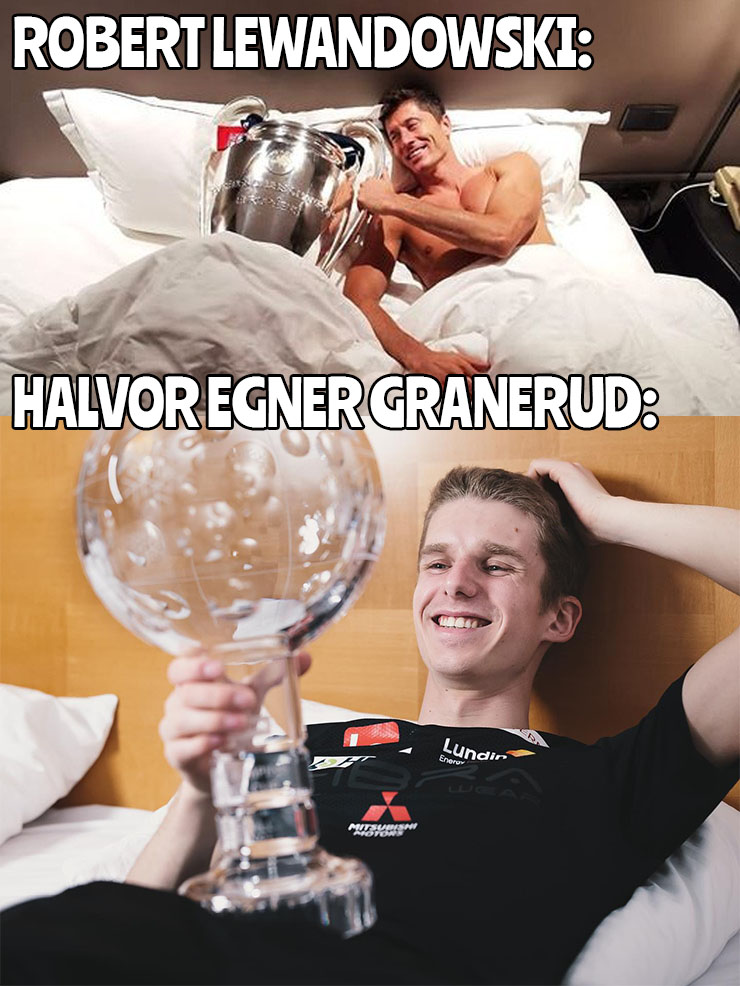 Granerud jak Lewandowski